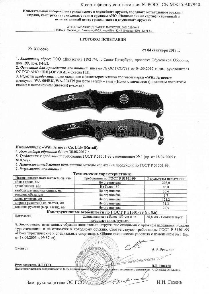 Eagle Claw WA-004BK